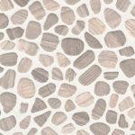 White Oak Pebbles Tumbled Pattern 10mm