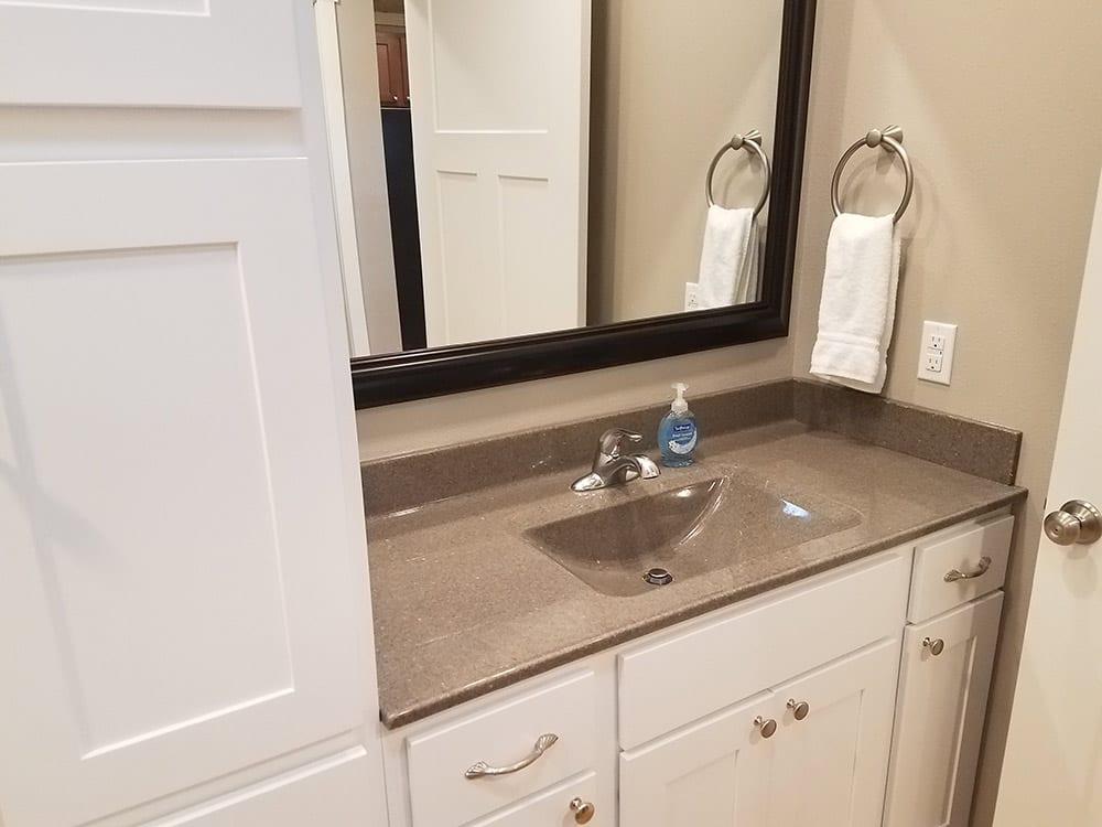 bathroom in cabin 2