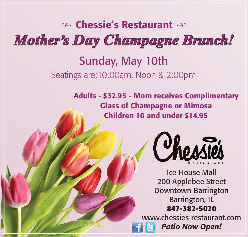 Mother's Day Brunch at Chessie's Retaurant