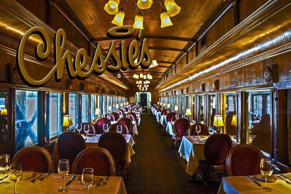 Chessie's Train Car Dining