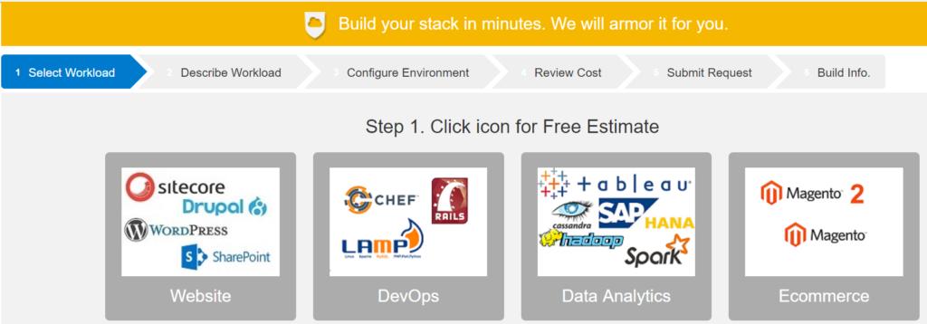 AWS Hosting on StackBuilder