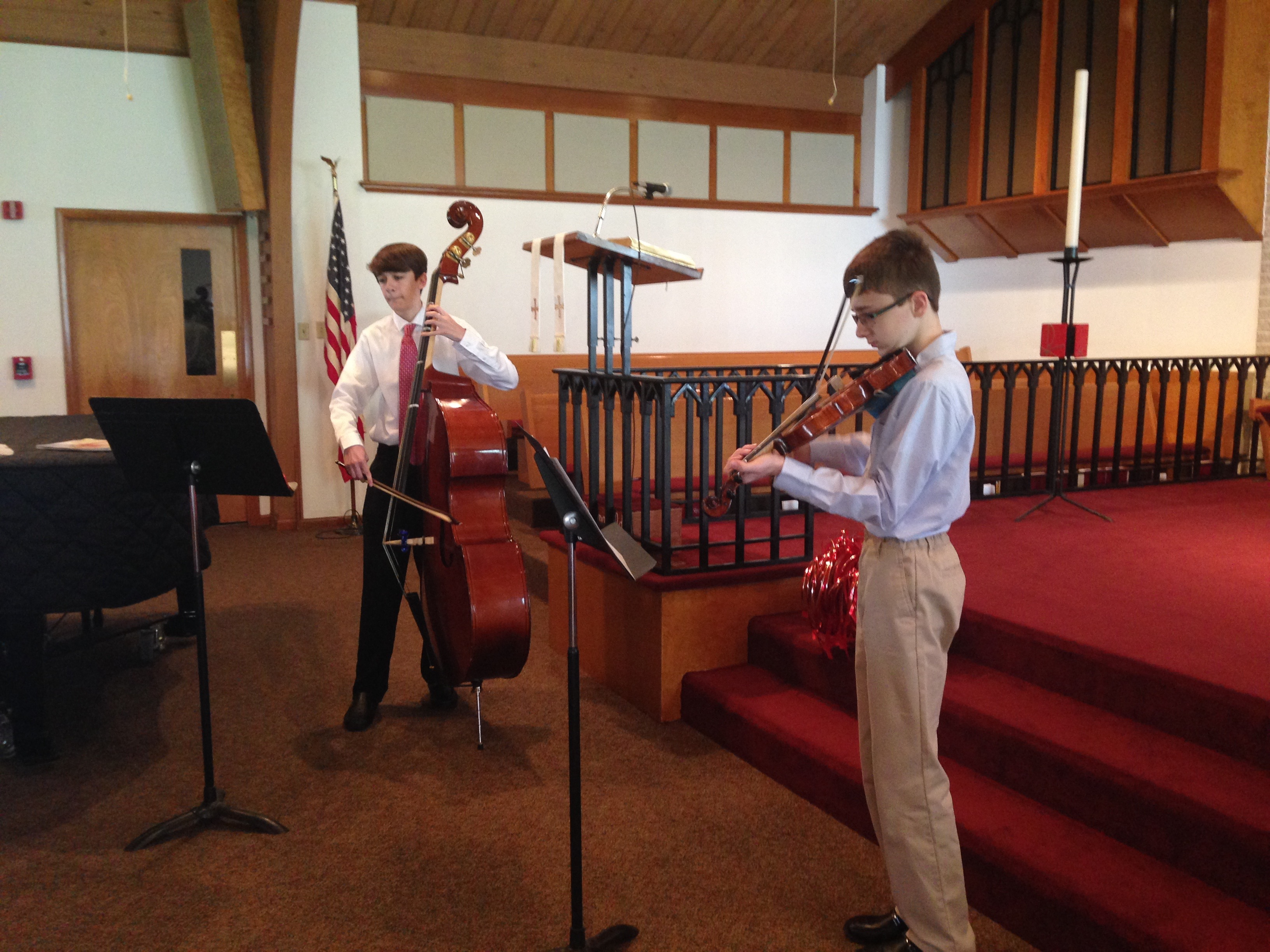 Confirmation musical performance