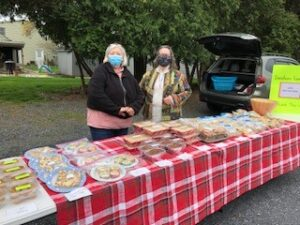 Selling baked goods