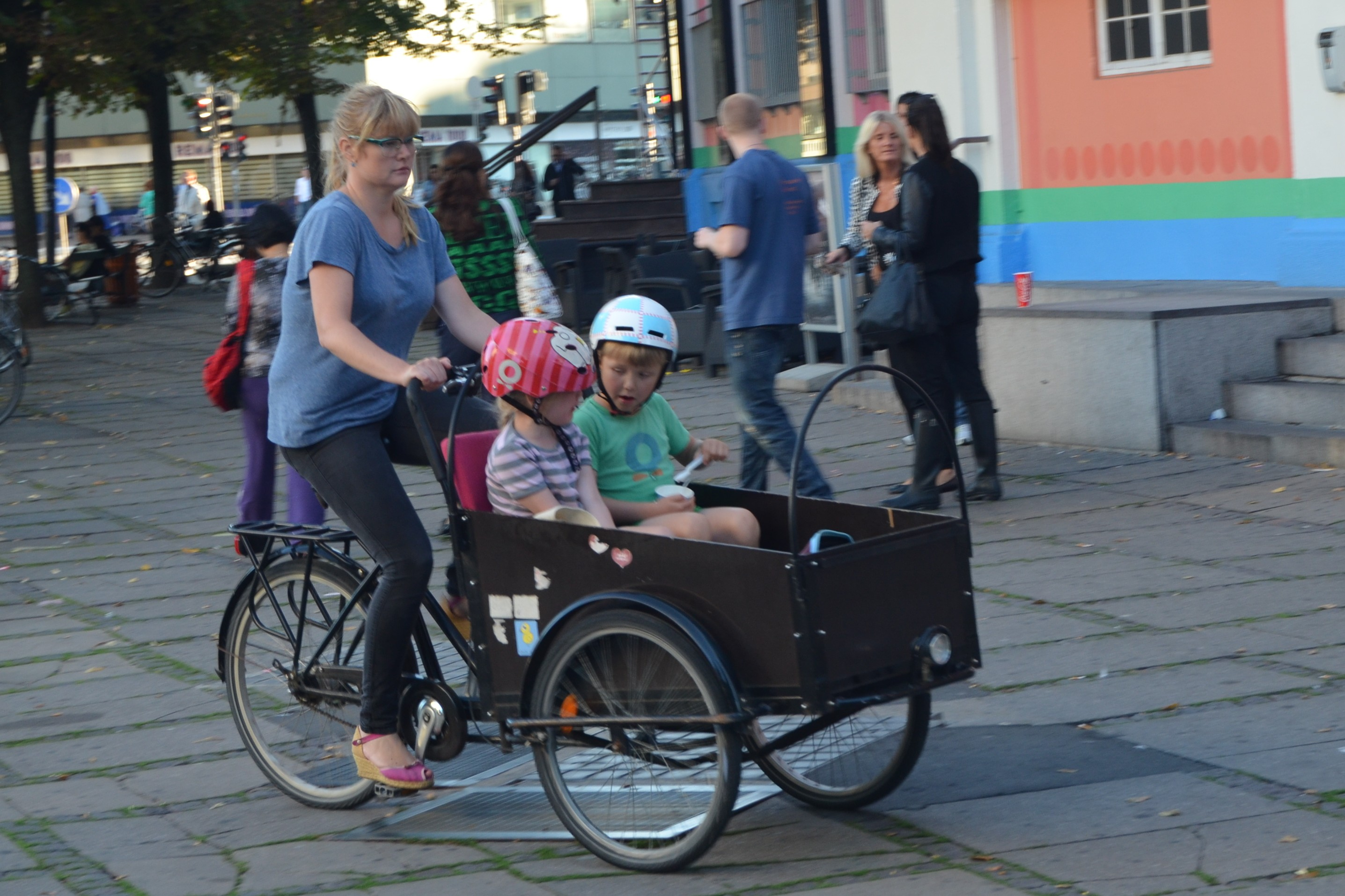 A Bicycle Built for Three