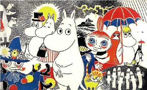 Moomins & Monsters