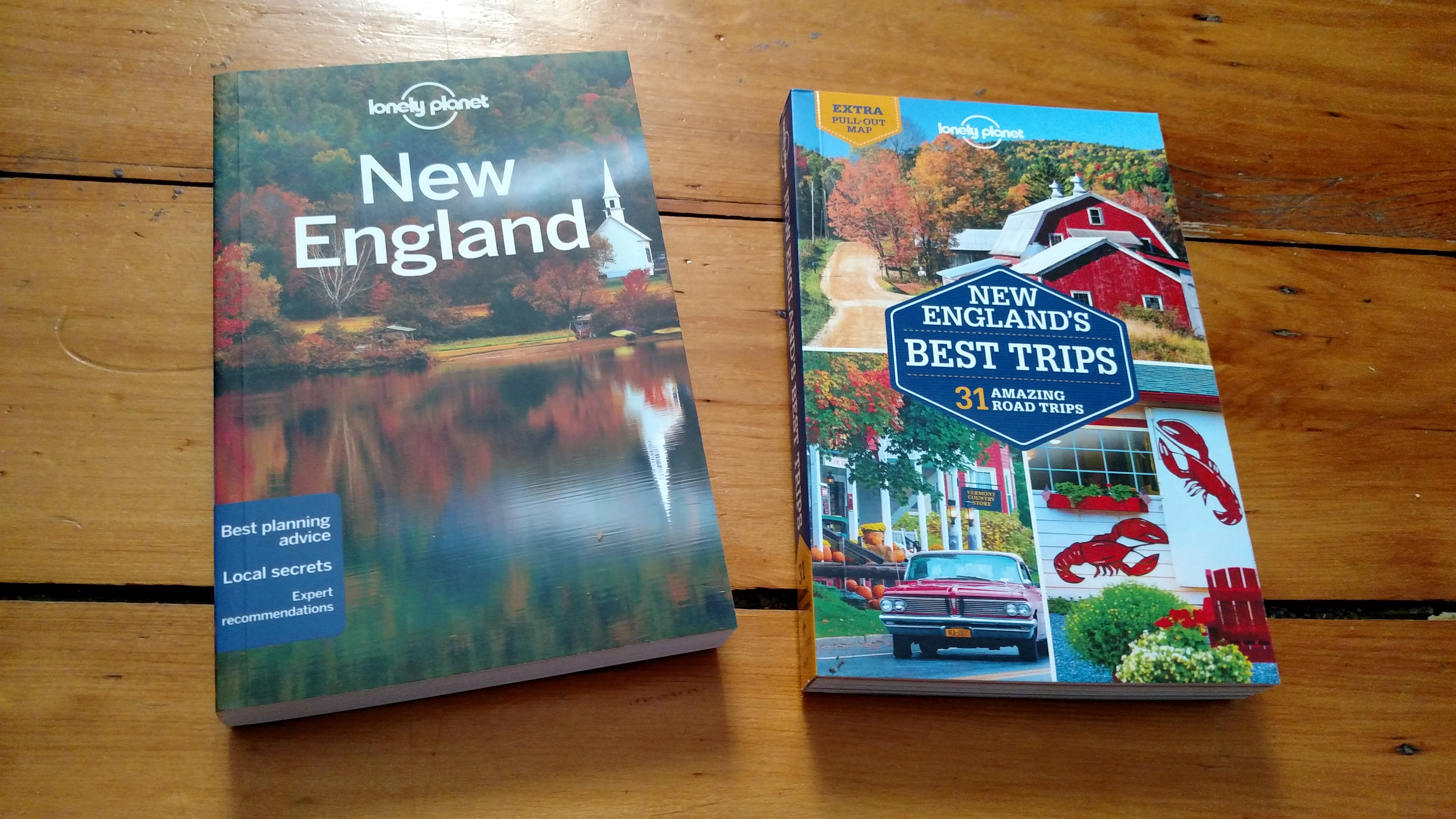 Lonely Planet New England books