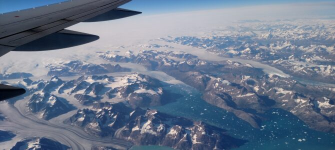 Somewhere Over Greenland