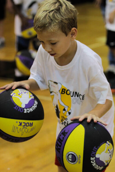 Bounce Out the Stigma Basketball for Special Needs Kids