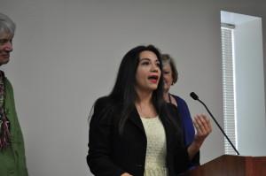 Andrea Guajardo, Director at CHRISTUS Santa Rosa and Ph.D. candidate in Education (Organizational Leadership) 2018