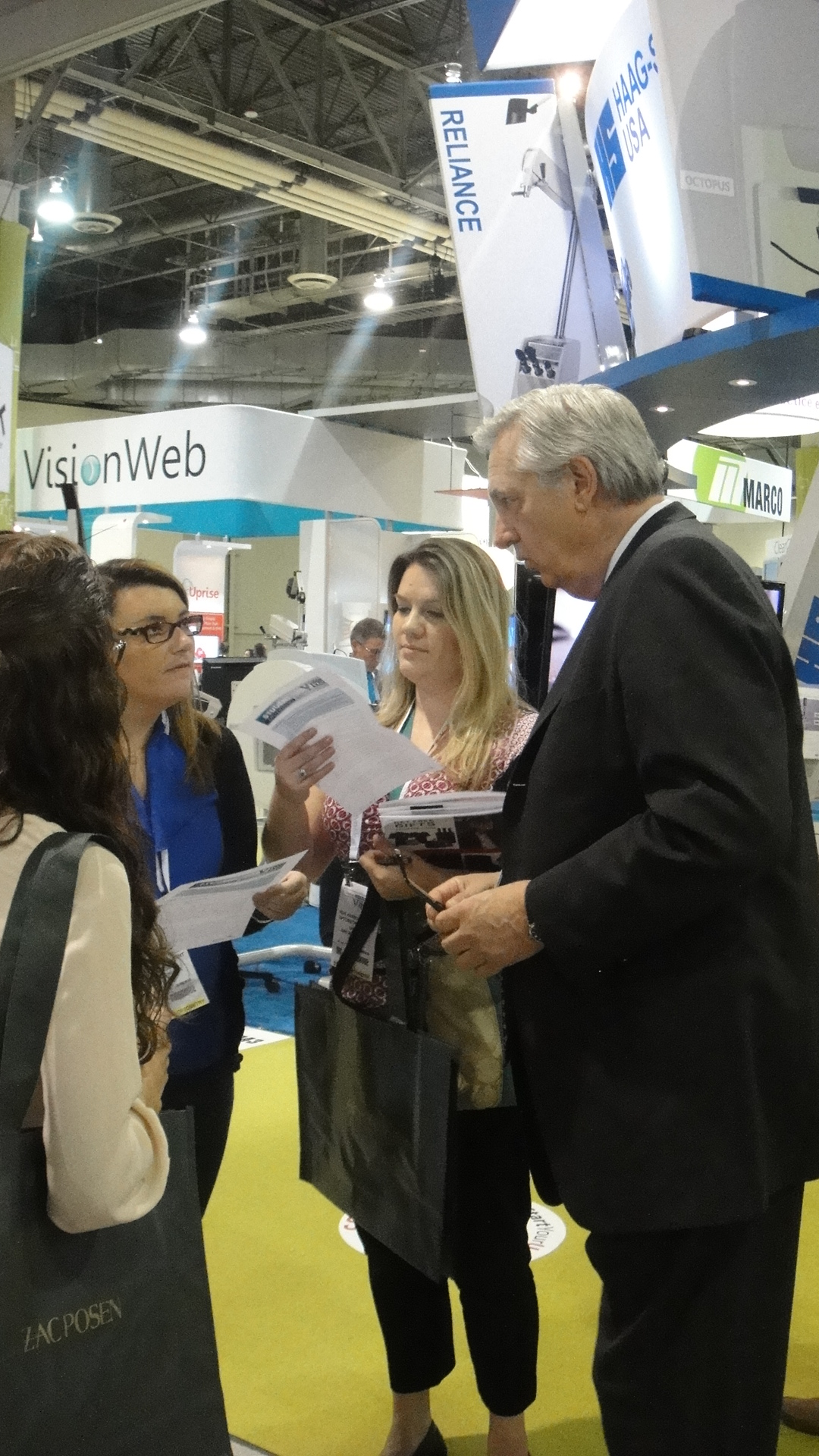 Vision Expo West 2014: new technology, networking, and job offers