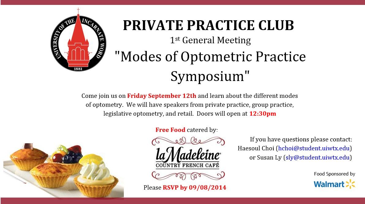 The Private Practice Club Symposium