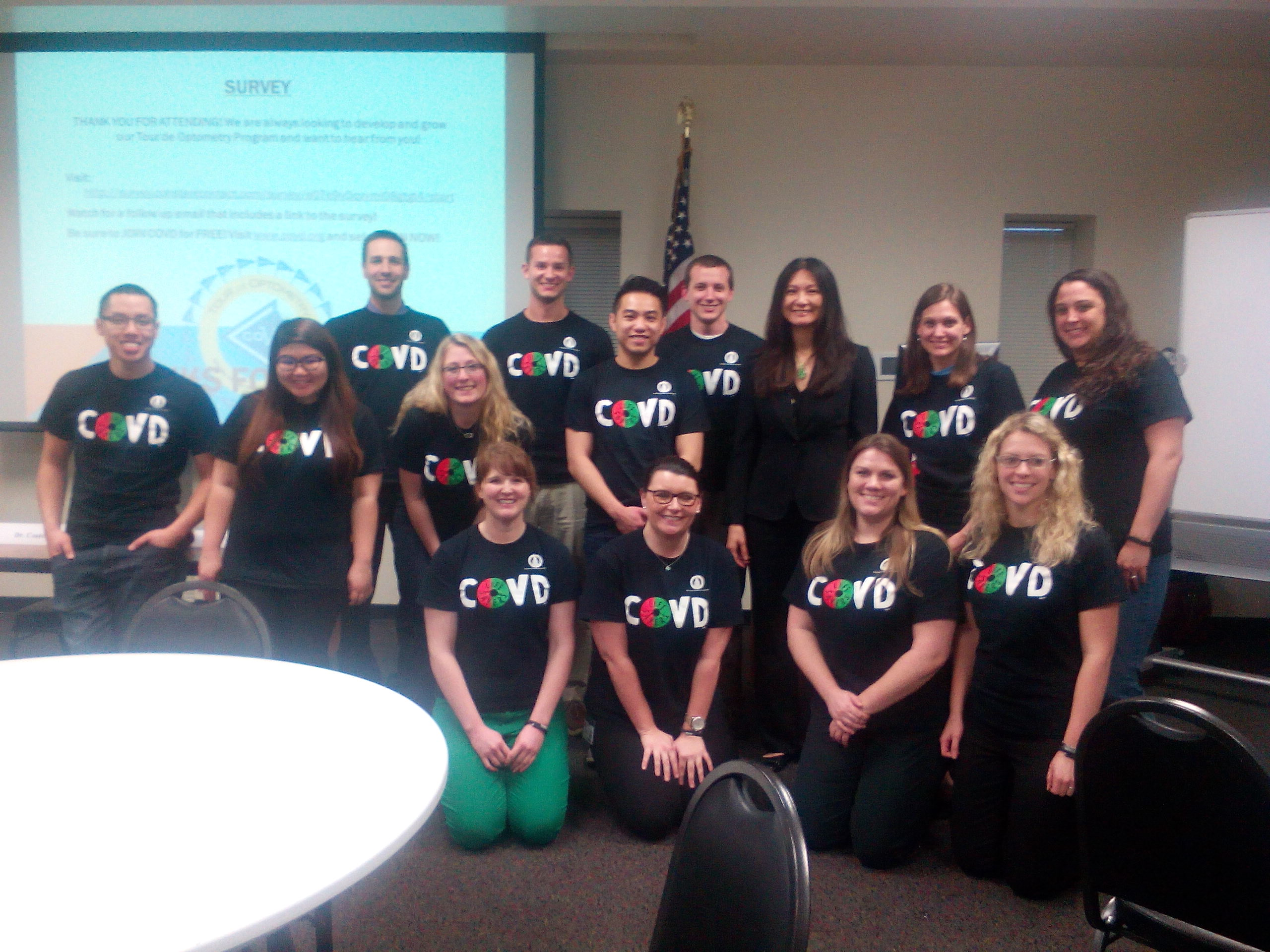 Tour de Optometry with the National COVD's President Dr. Ida Chung
