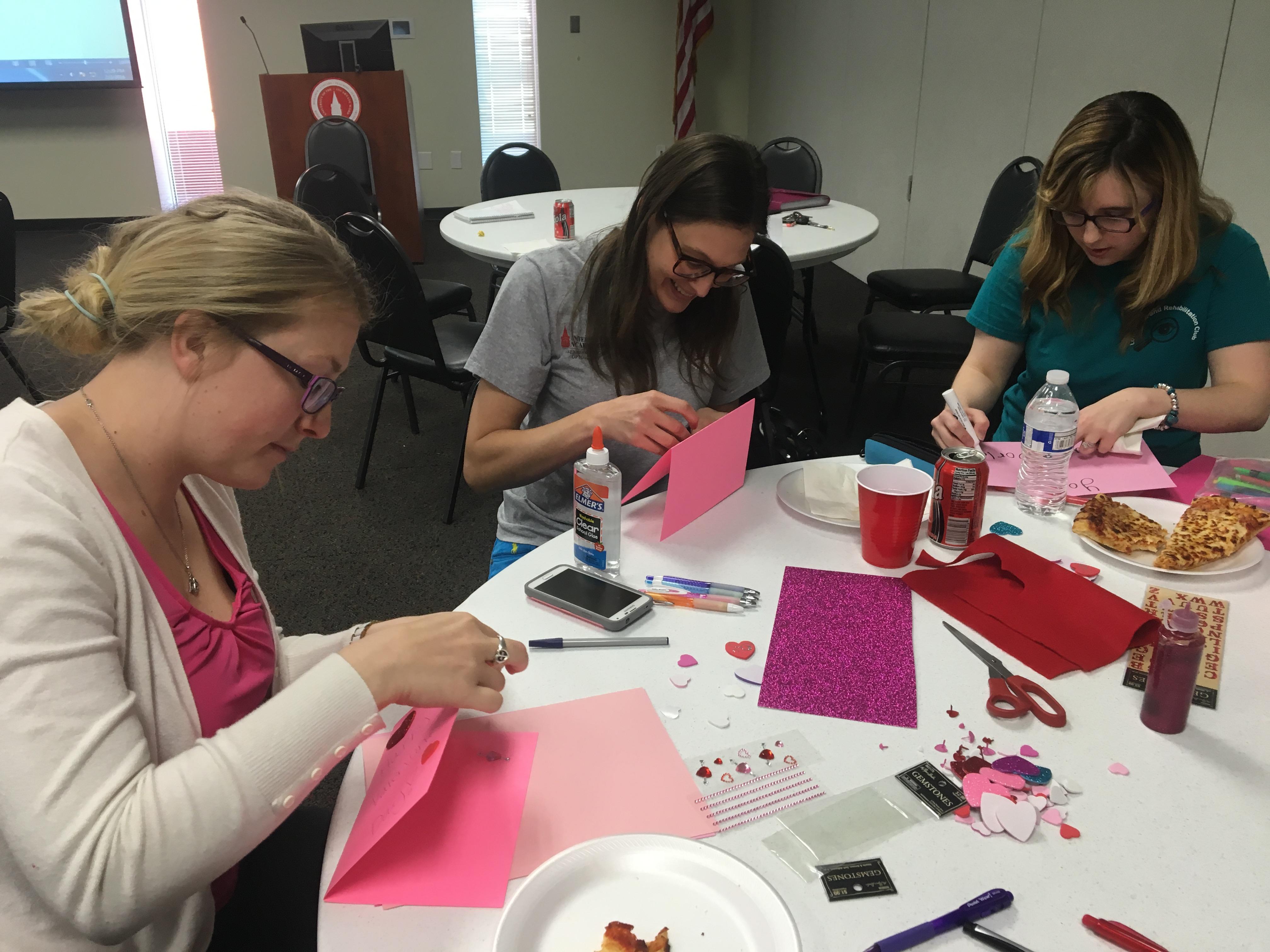LVR Club Celebrates Valentine's Day