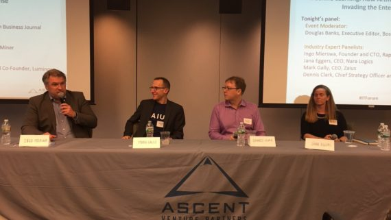 Ascent B2B IT Forum – Machine Learning: How Artificial Intelligence is Invading the Enterprise