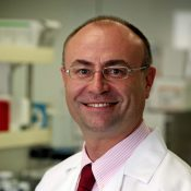 Heinz-Josef Lenz, M.D., professor of medicine and preventive medicine in the division of medical oncology at the Keck School of Medicine of USC