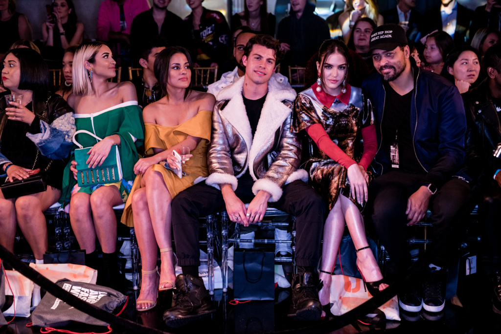 Carmela Zumbado, Andrew Matarazzo and Lilimar at LA Fashion Week FW19 by Art Hearts Fashion