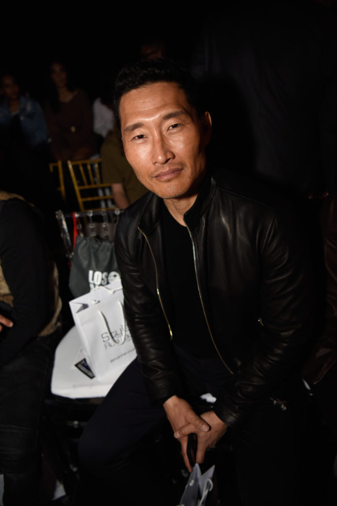Daniel Dae Kim at LA Fashion Week by Art Hearts Fashion