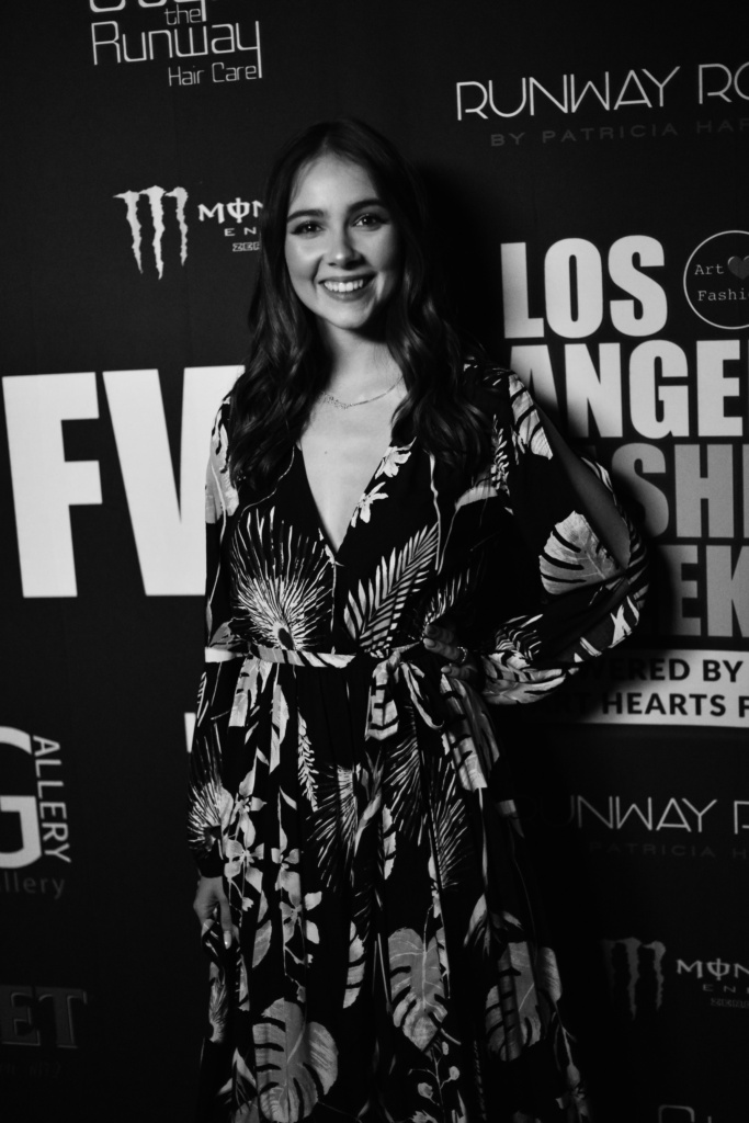 Haley Pullos at L.A. Fashion Week FW19 powered by Art Hearts Fashion