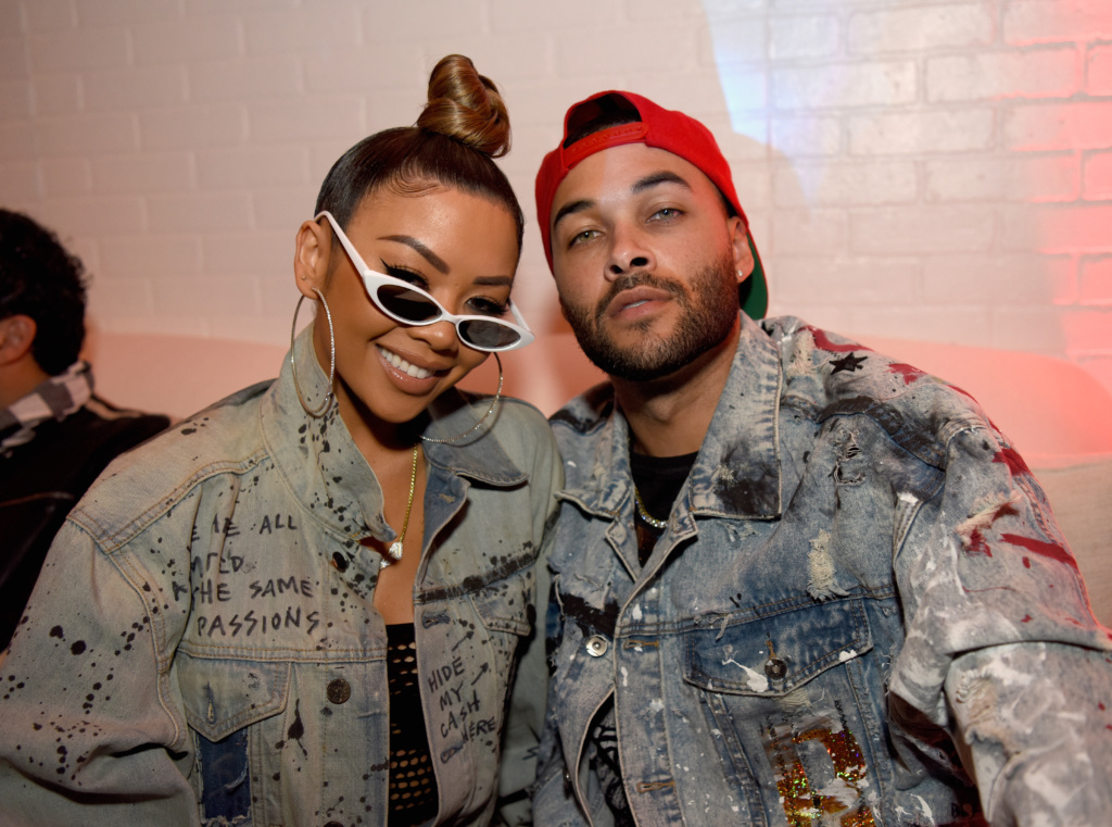 Liave V and Don Benjamin at LAFW FW19 by Art Hearts Fashion