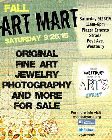 FALL Art Mart flyer