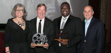 black and whit ball honorees