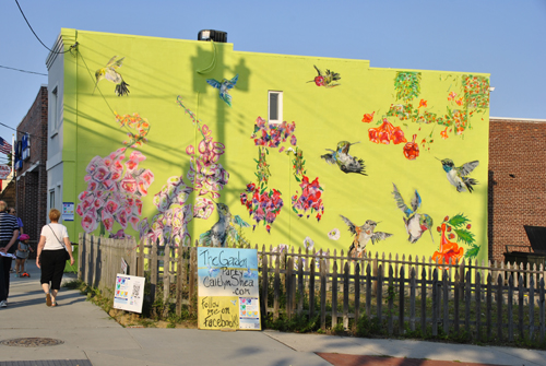 JumpstART Hummingbird Mural