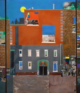 Romare Beardon, The Block (1971)