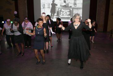 Masquerade Ball Julie Dancing