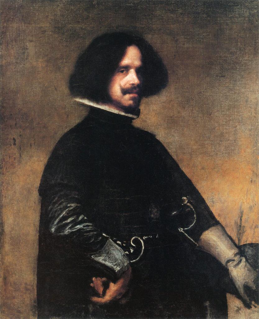 Self-portrait by Diego Velázquez