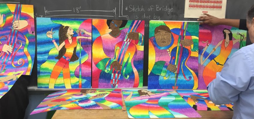 2018 Westbury School Art Contest