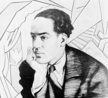 Langston Hughes by Winold Reiss