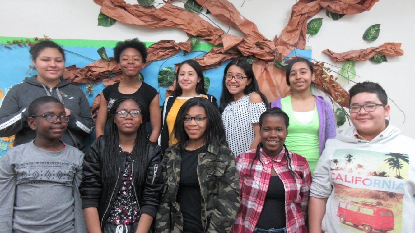 Westbury Middle School Students