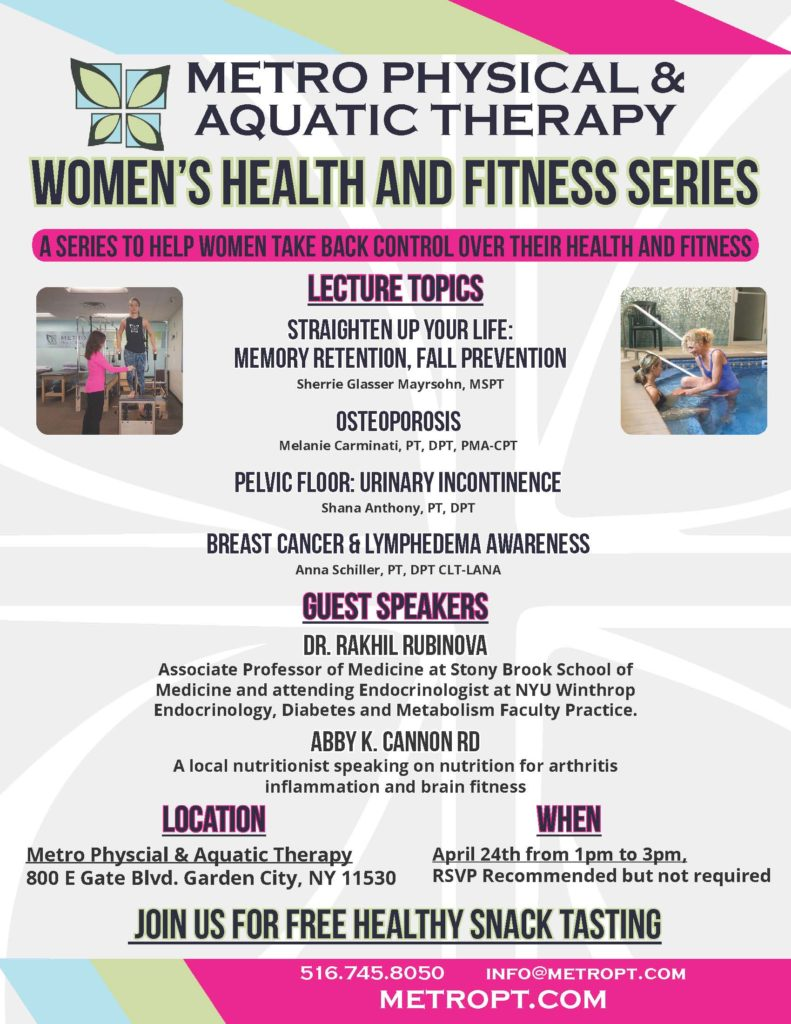 Metro Physical & Aquatic Therapy Women's Health and Fitness