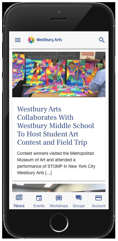 Westbury Arts mobile pp