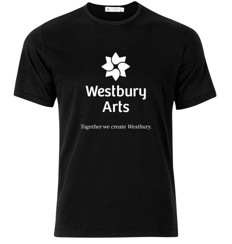 Black Westbury Arts shirt