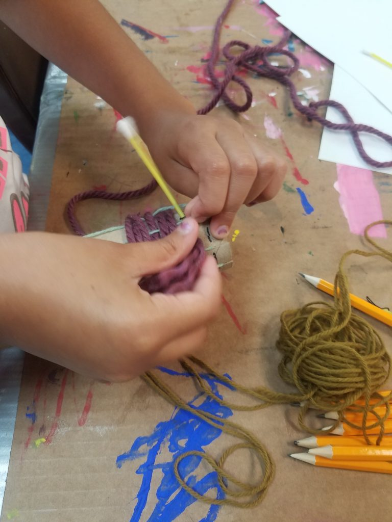 Work with what you have - Weaving