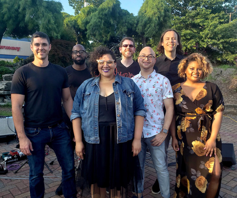 2018 - Westbury Arts - Jeanette Berry & The Soul Nerds