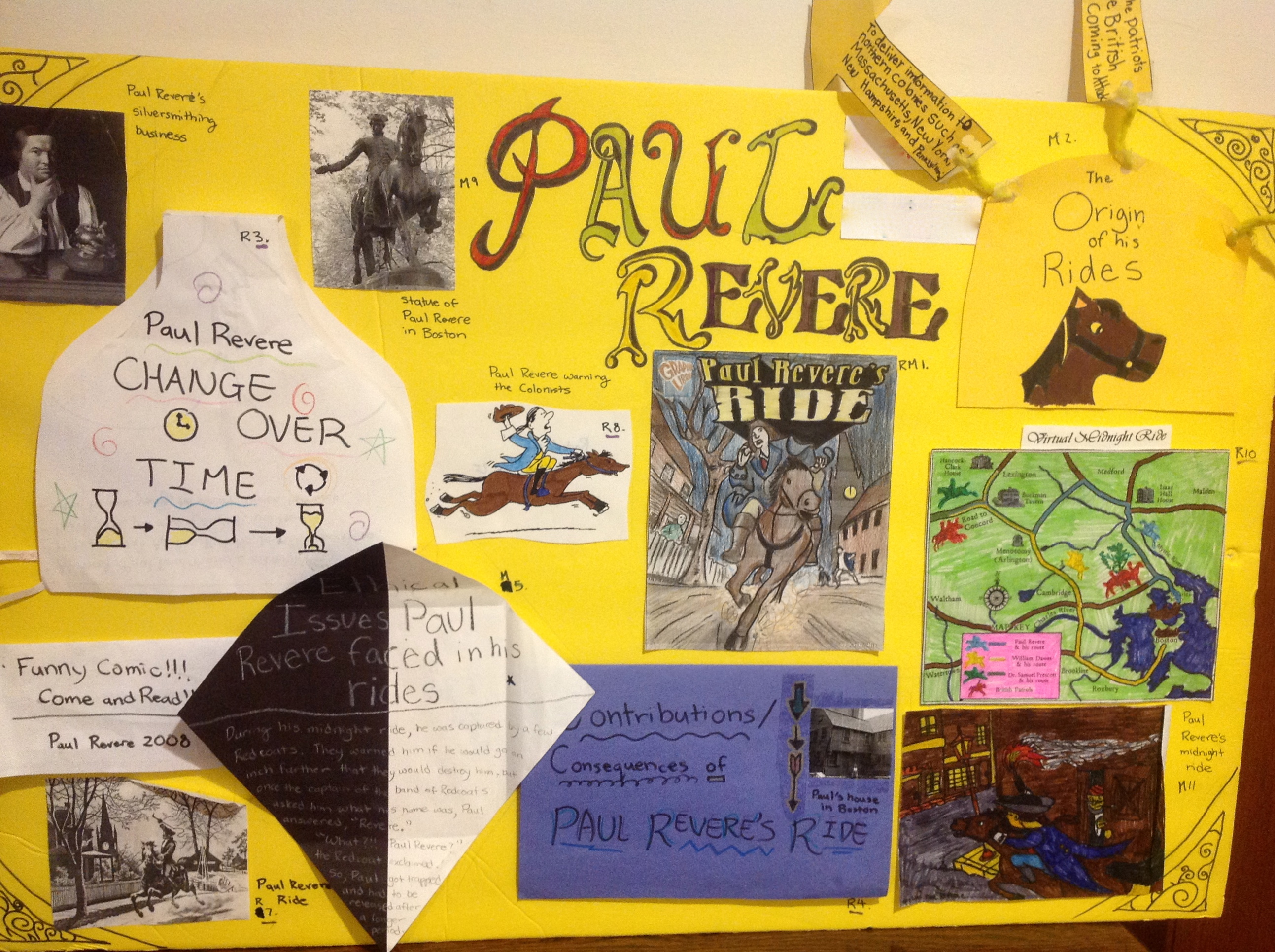 Image of Paul Revere Poster Depth and Complexity