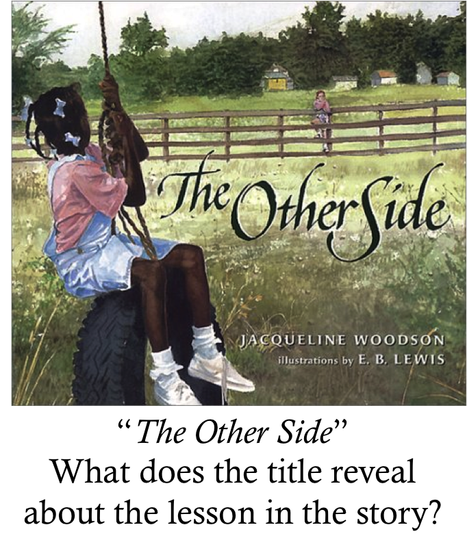 Image Picture Book The Other Side. Title