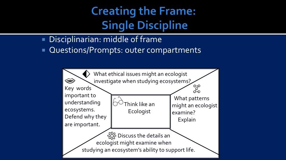 Single Discipline Frame