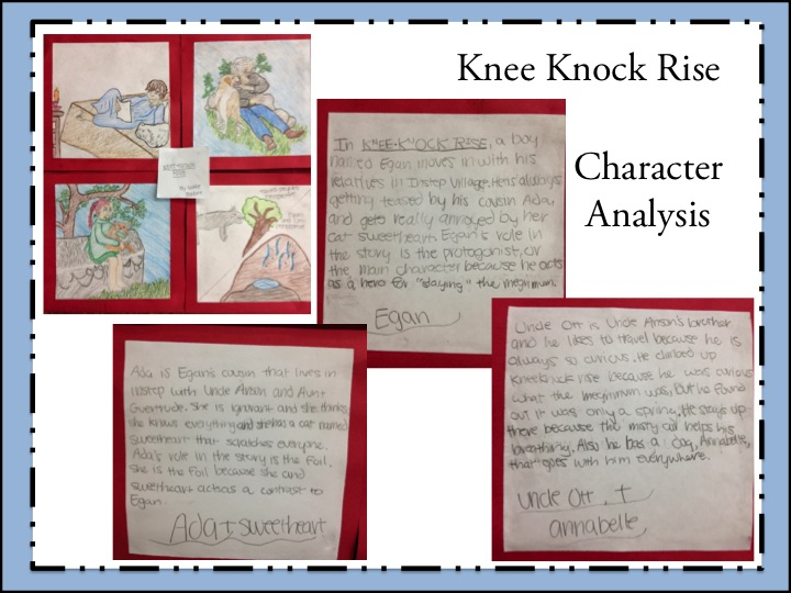 Image of Knee Knock Rise Character Analysis