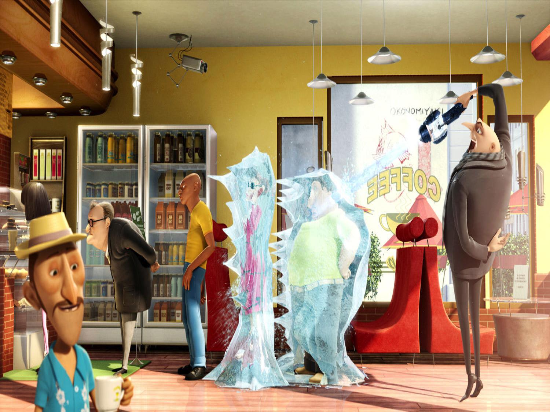 Image of Making judgements Character Gru Laser