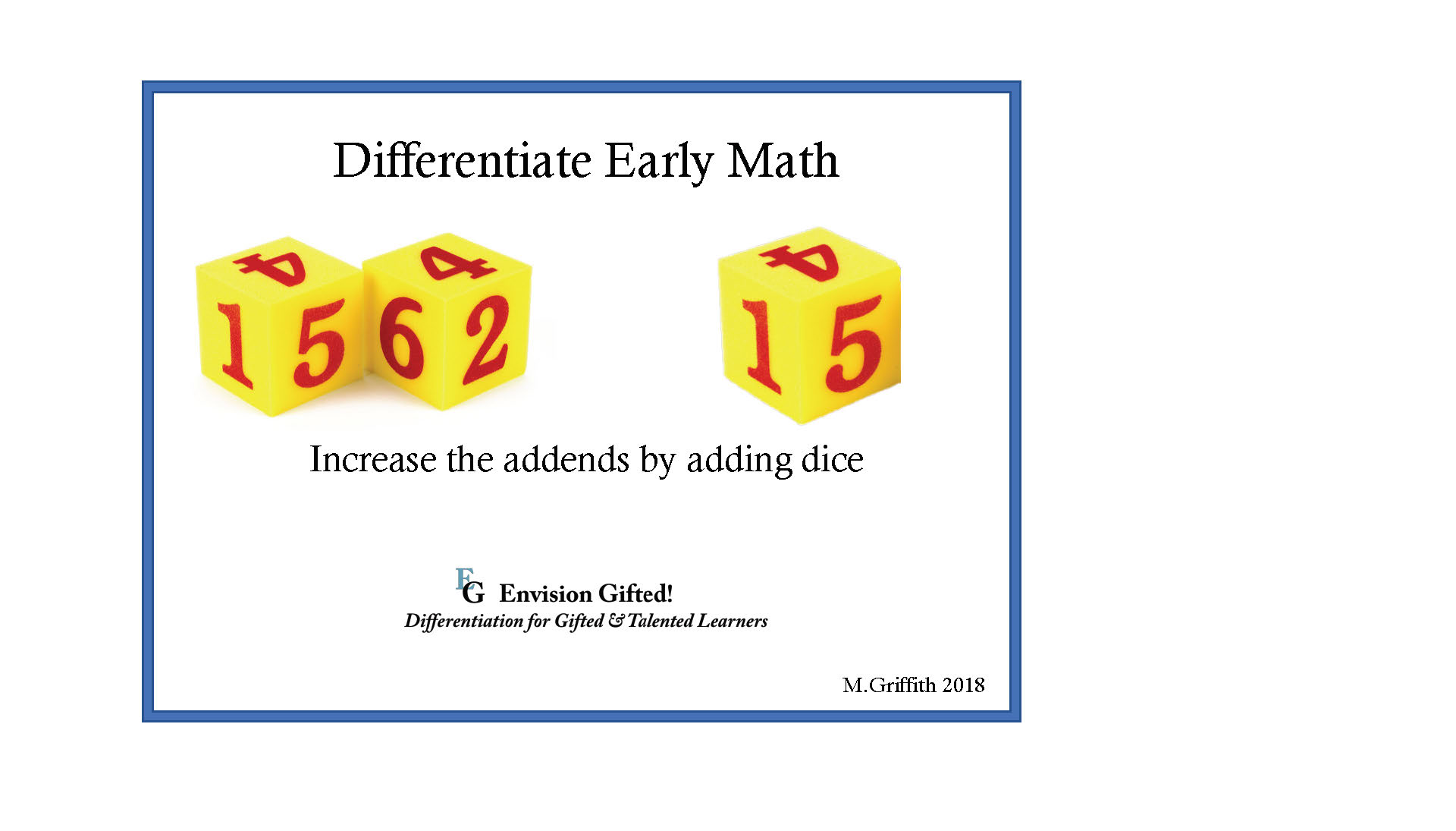 Envision Gifted - Differentiate Math