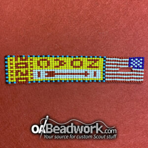OaBeadwork Dangle | 2020 Flag