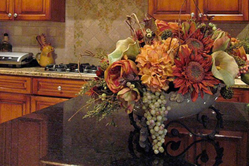 Interior Faux Florals
