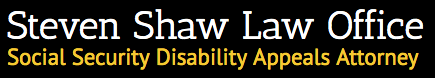 Steven Shaw Law Office Logo