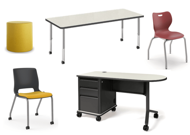 classroom products selected