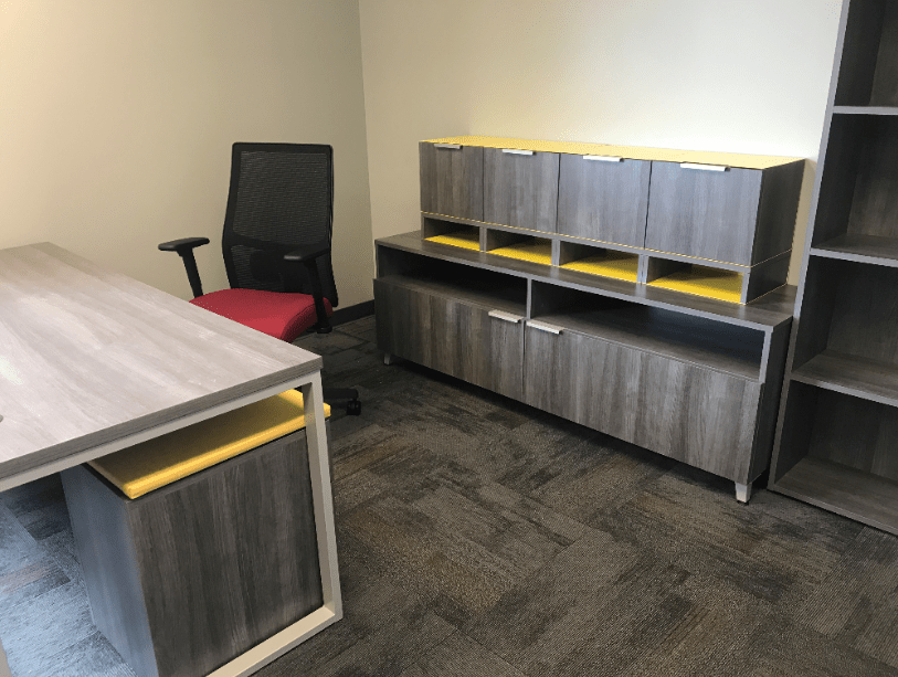 Private office installation