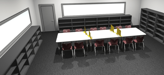 3D Rendering provided by Office Essentials