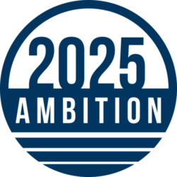 2025 Ambition Blue Logo